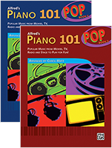 Alfred's Piano 101, Pop Books 1 and 2