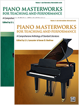 Piano Masterworks for Teaching and Performance