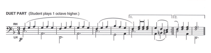 Alfred's Basic Piano Course Duet Parts