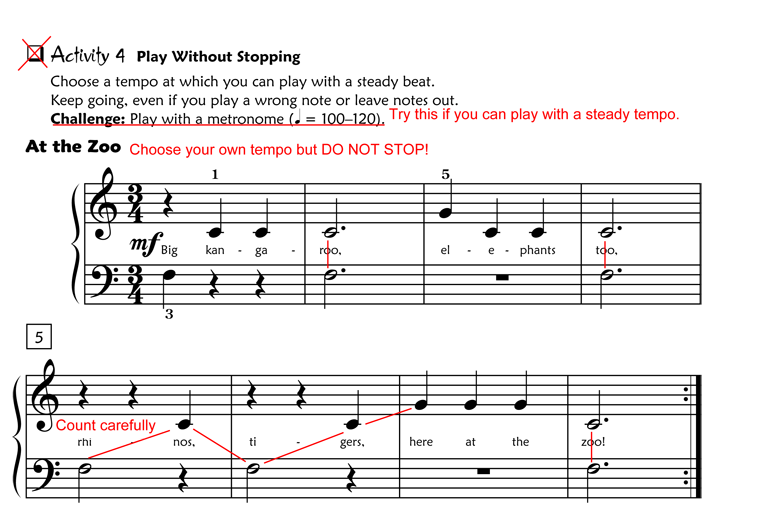 Activities to Help Piano Students Learn to Sight-Read