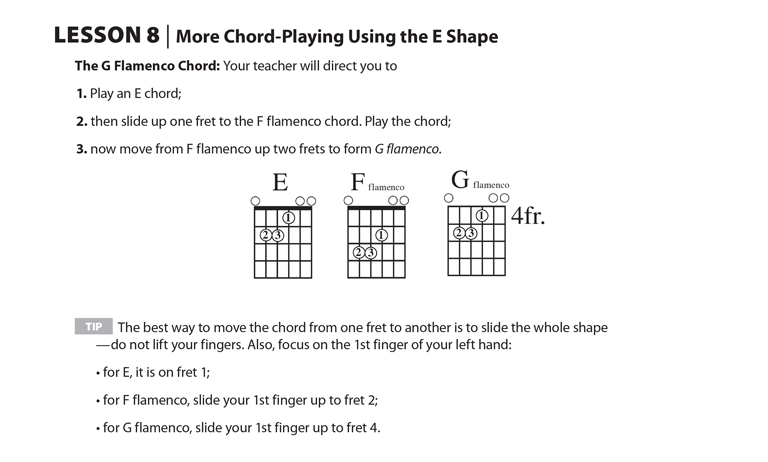Sound Innovations For Elementary Class Guitar Overview