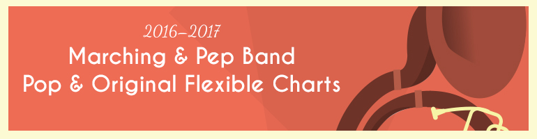 2016 Marching & Pep Music Selections