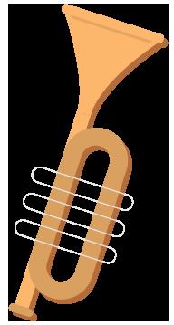 Retro Trumpet