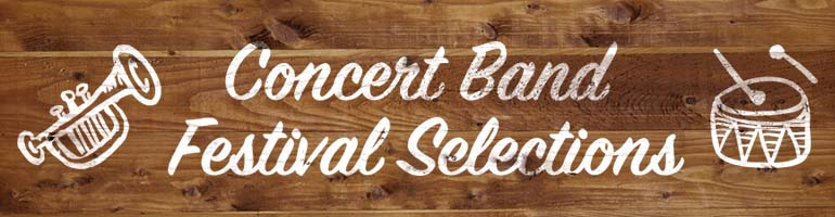 2016-2017 Belwin & Alfred Concert Band Festival Music Selections