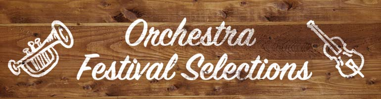 2016-2017 Highland/Etling & Belwin Orchestra Festival Selections