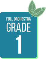 Spring Concert Music Selections for Full Orchestra Grade 1