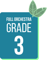 Spring Concert Music Selections for Full Orchestra Grade 3