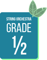 Spring Concert Music Selections for String Orchestra Grade half