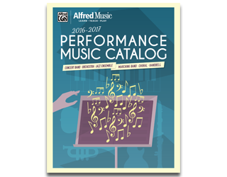 2016 Performance Music Catalog