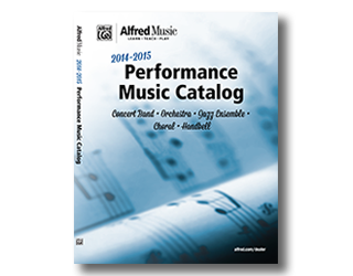 2014 Performance Music Catalog