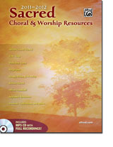 2011 Alfred Sacred Choral Resources Mailer