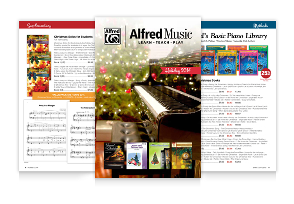 Holiday Piano Promotion 2014